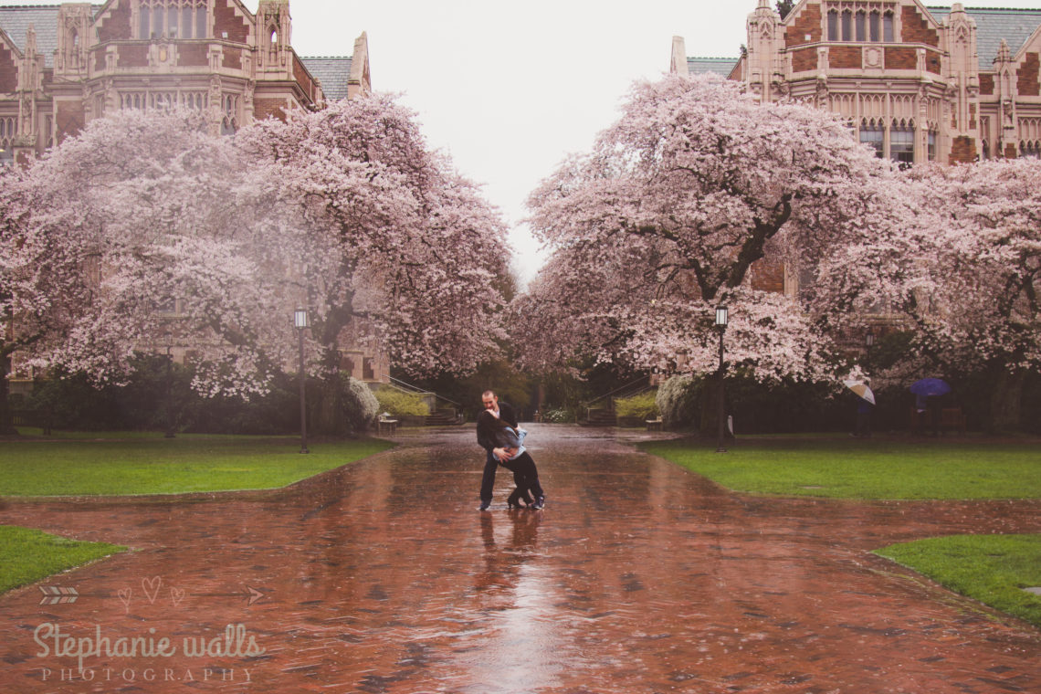 UW SEATTLE ENGAGEMENT | ANTOINETTE & STEPHEN | SEATTLE WEDDING PHOTOGRAPHER