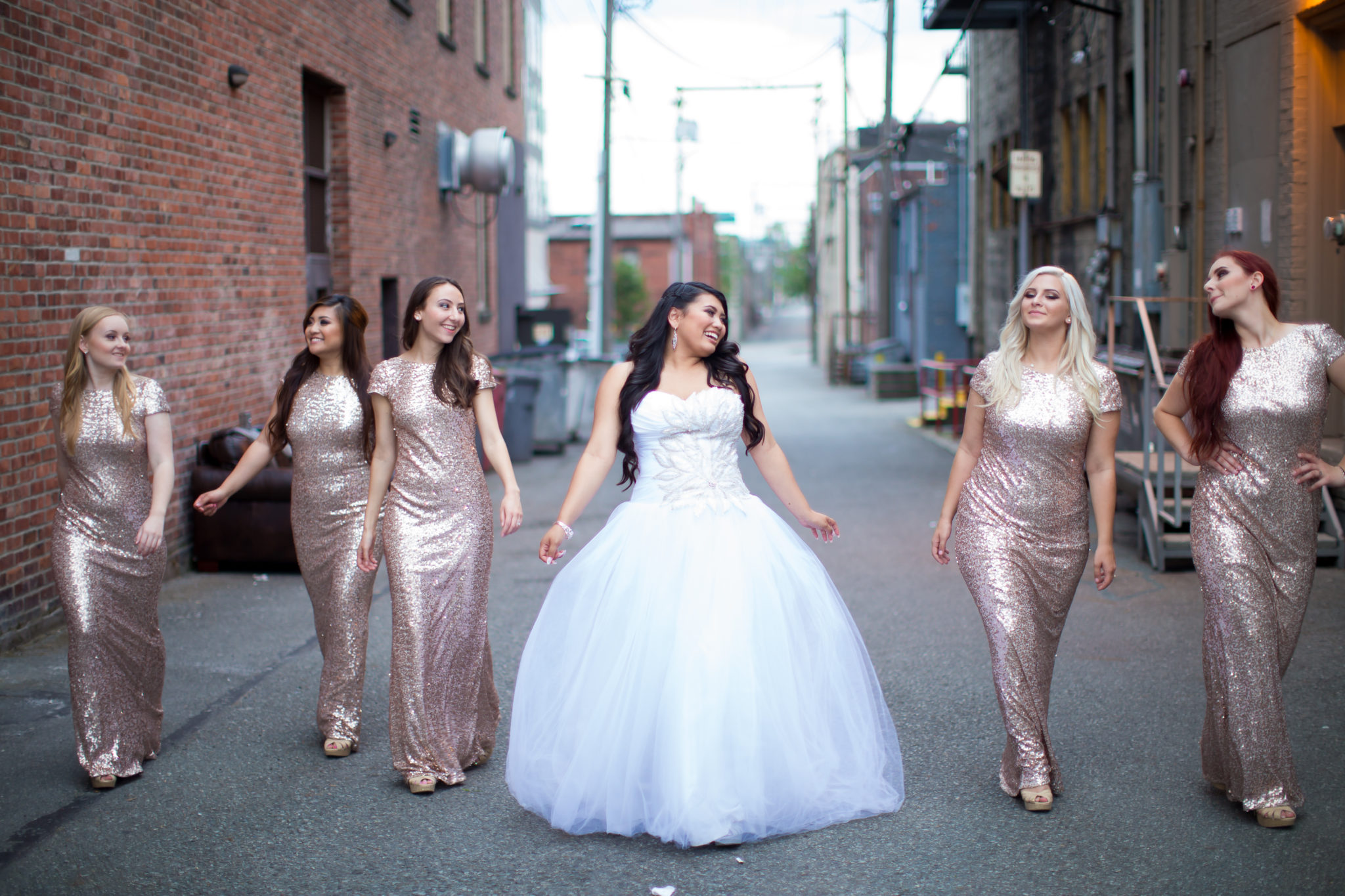 Aleshchenko Bridesmaids Photos 9 GLAM MONTE CRISTO BALLROOM WEDDING | EVERETT WEDDING PHOTOGRAPHER