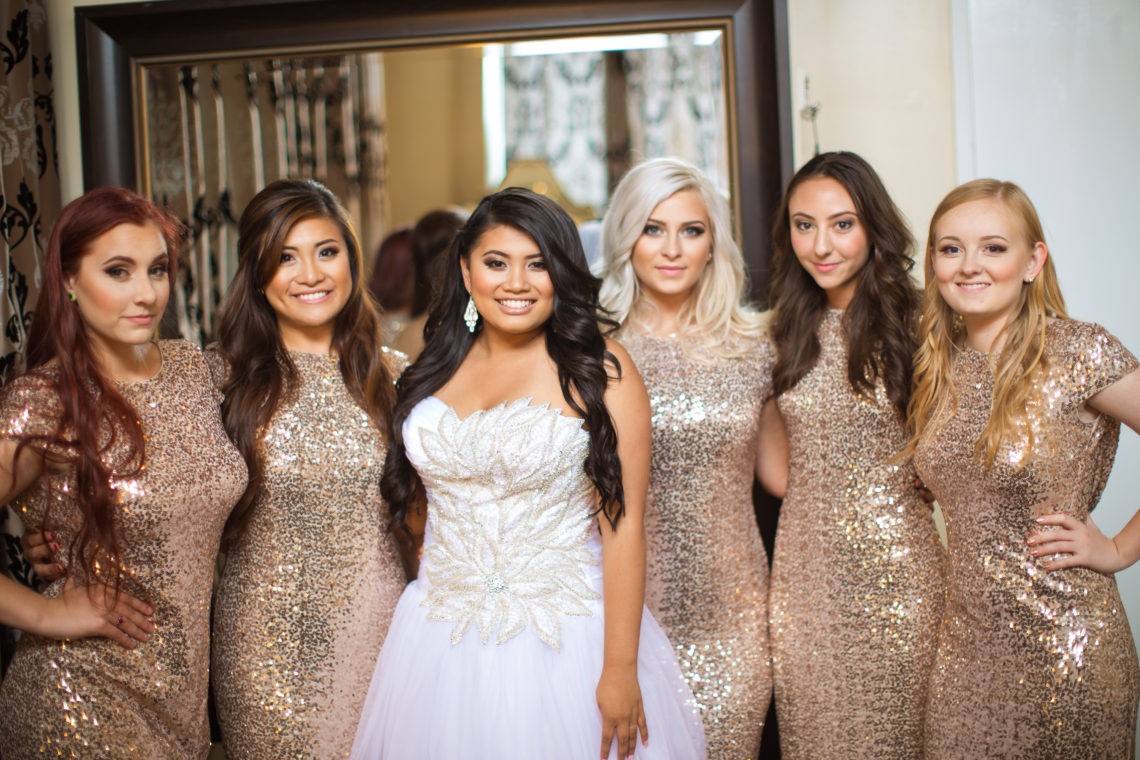 Aleshchenko Ladies getting ready 27 GLAM MONTE CRISTO BALLROOM WEDDING | EVERETT WEDDING PHOTOGRAPHER