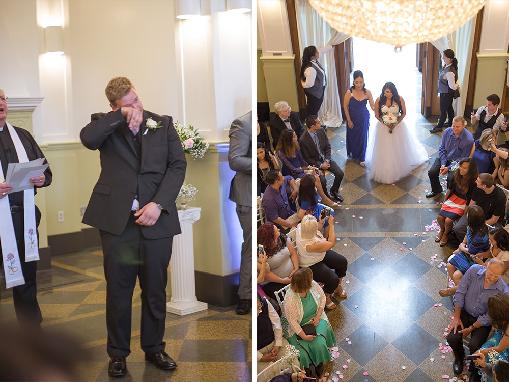 ceremony1 GLAM MONTE CRISTO BALLROOM WEDDING | EVERETT WEDDING PHOTOGRAPHER
