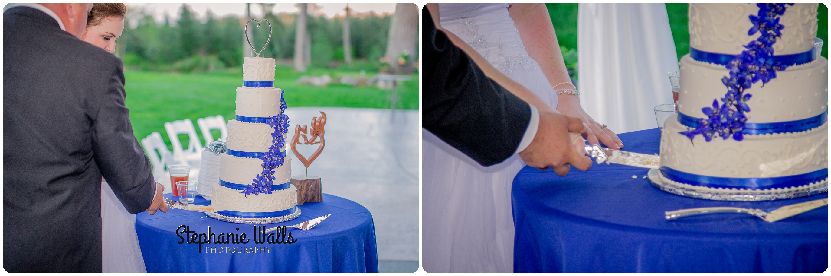 McCaslin Wedding018 Blue Skys ahead | Natures Connection Place | Arlington Wedding Photographer