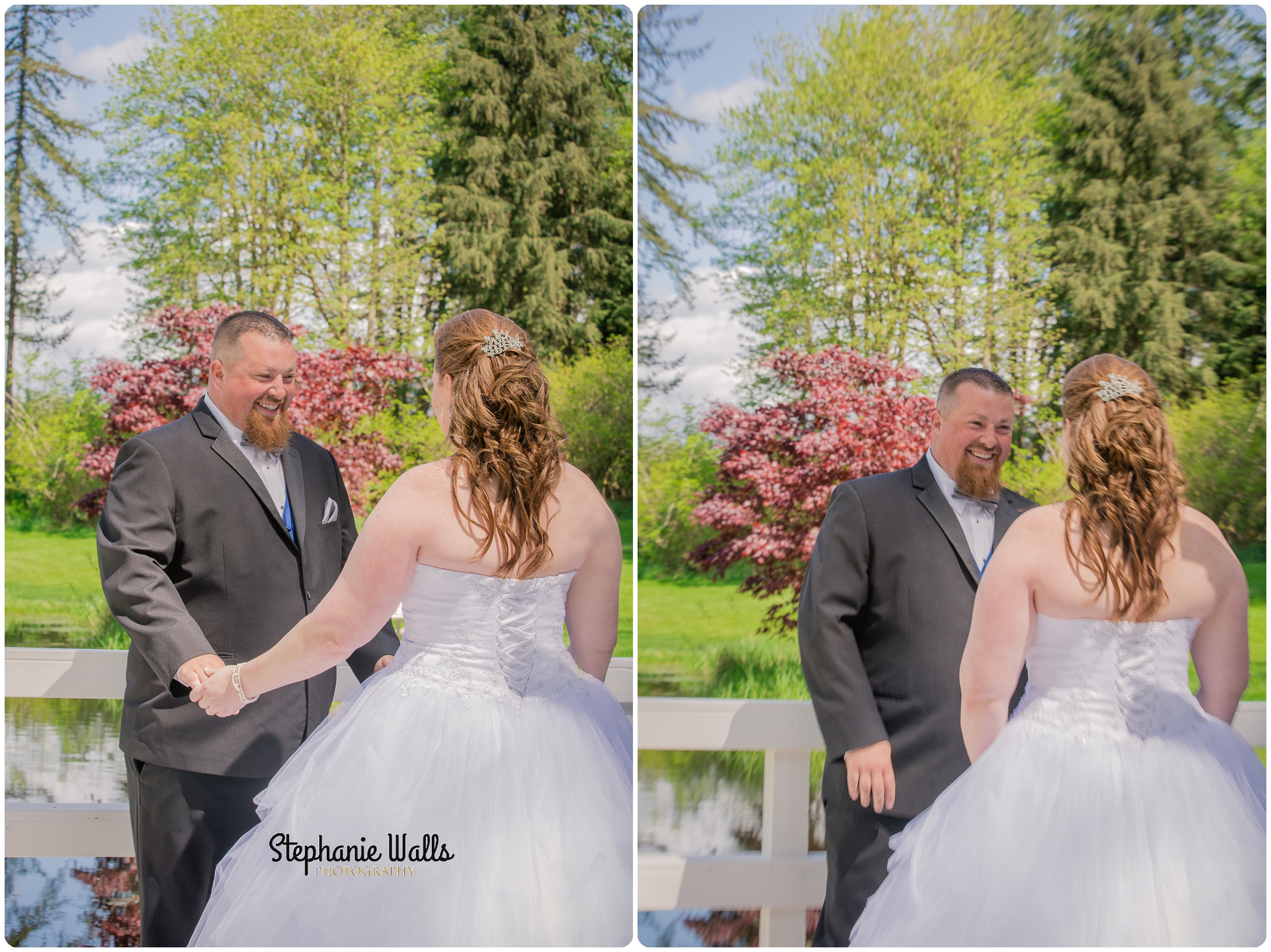 McCaslin Wedding020 1 Blue Skys ahead | Natures Connection Place | Arlington Wedding Photographer