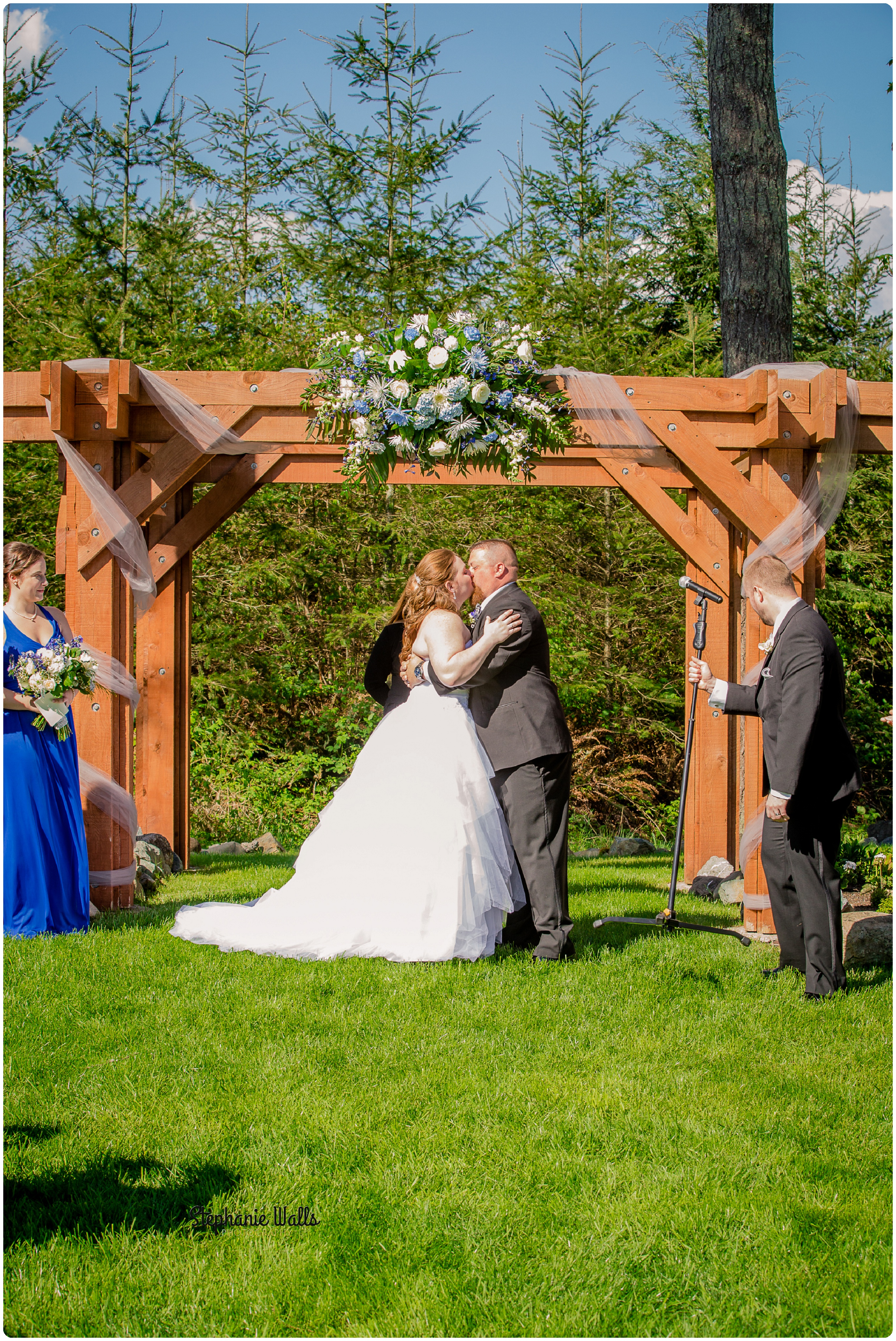 McCaslin Wedding173 3 Blue Skys ahead | Natures Connection Place | Arlington Wedding Photographer