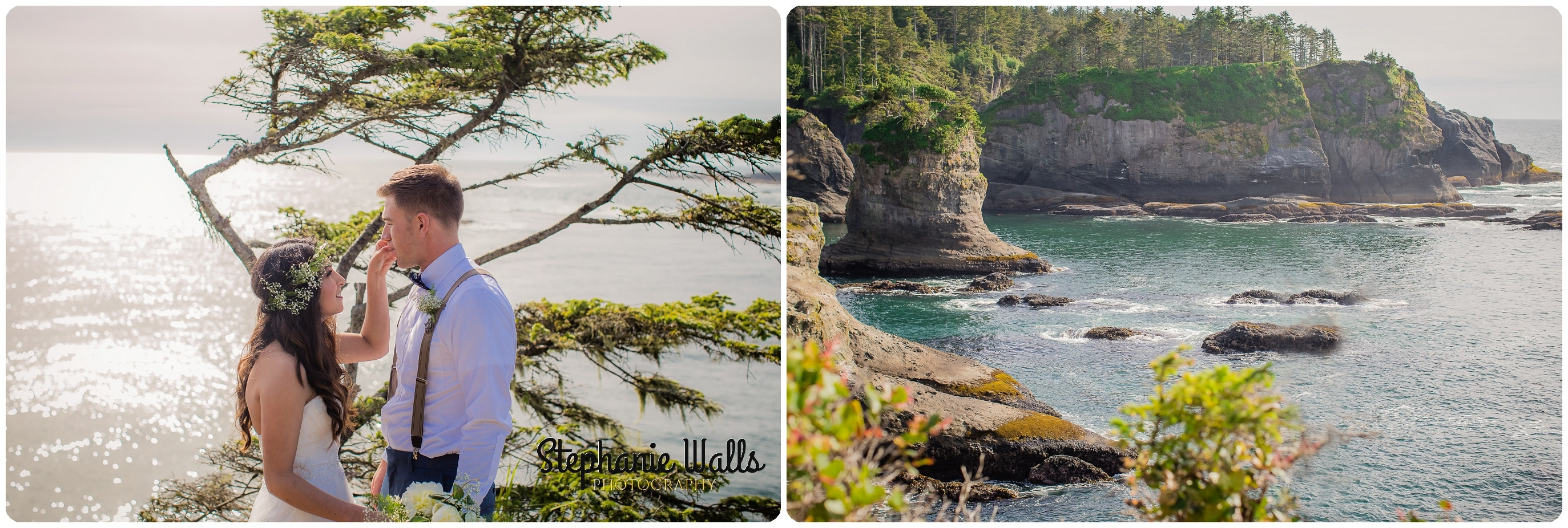 belfour 064 INTIMATE CLIFFSIDE ELOPEMENT | CAPE FLATTERY NEAH BAY | STEPHANIE WALLS PHOTOGRAPHY