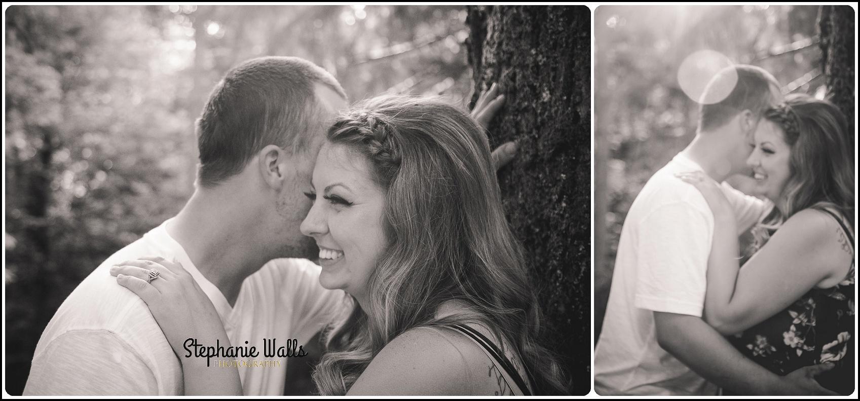 marissa   dustin005 Point Defiance Park Engagement with Marissa and Dustin