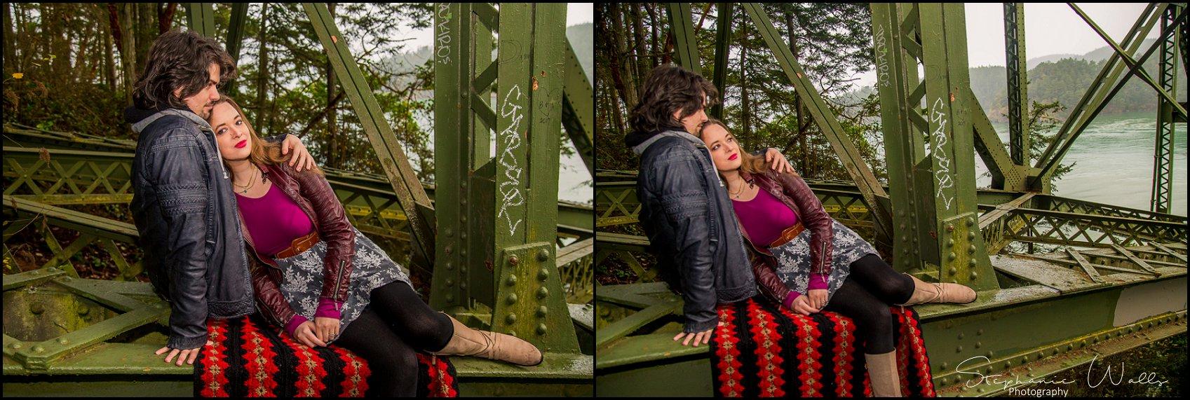Foss 006 Engaged  Deception Pass Park   with Sarah and Erik
