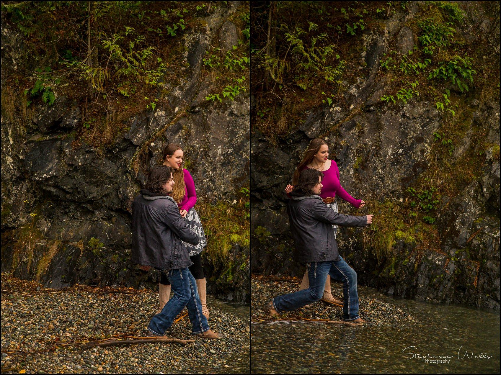 Foss 043 Engaged  Deception Pass Park   with Sarah and Erik