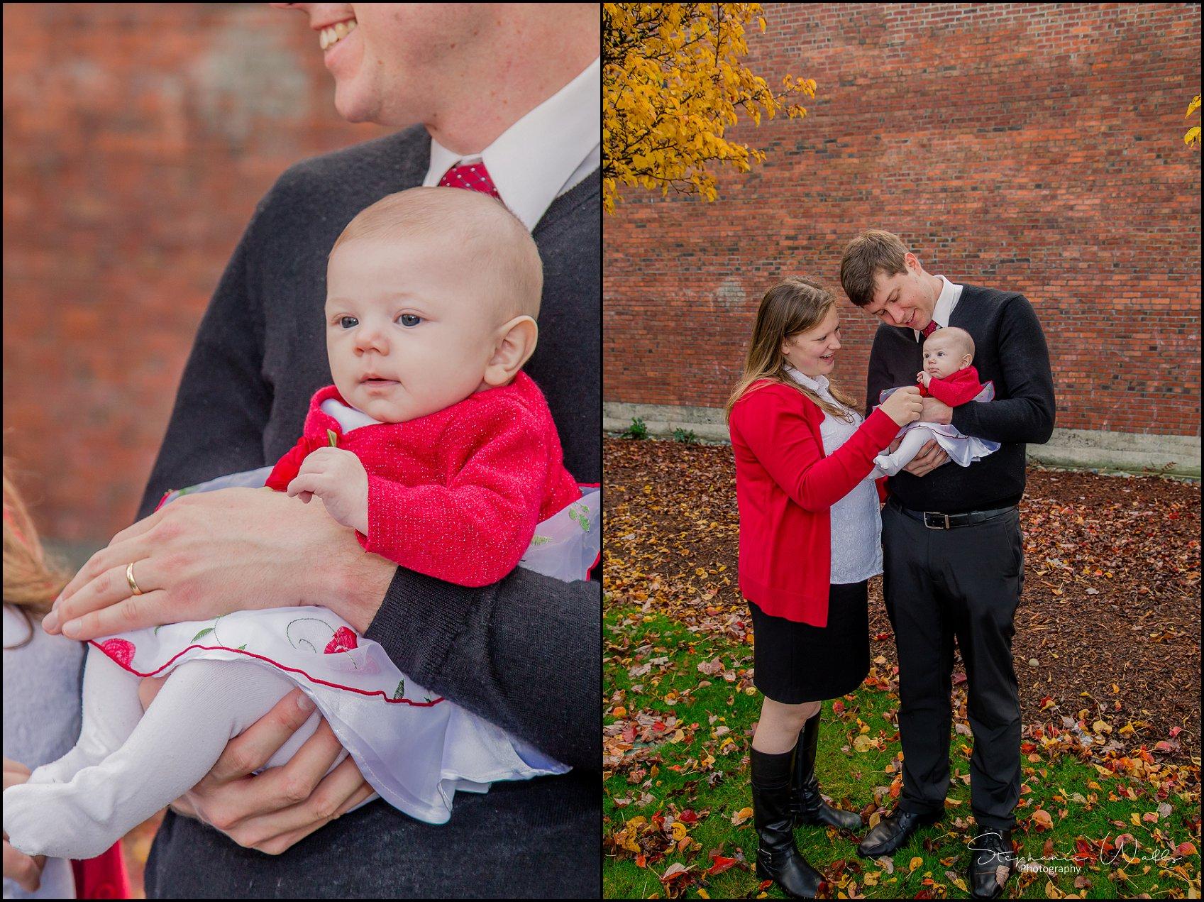 Harrell Family 010 1 Everett Wedding Photographer | Everett Train Station  | Family Photographer