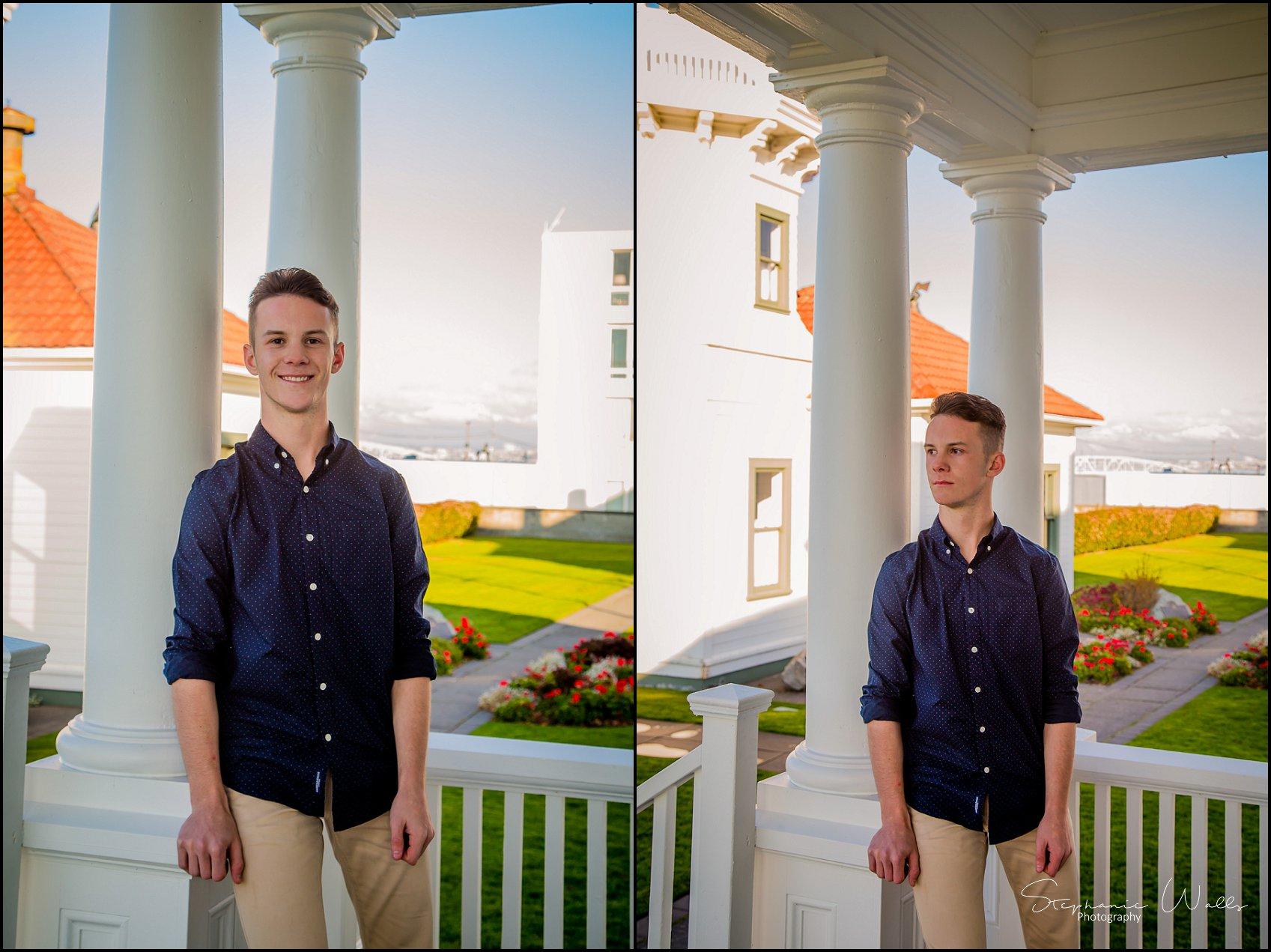 Josh Co2018 005 Josh Co2018 | Mukilteo Lighthouse Park | Bothell High School Senior Photographer