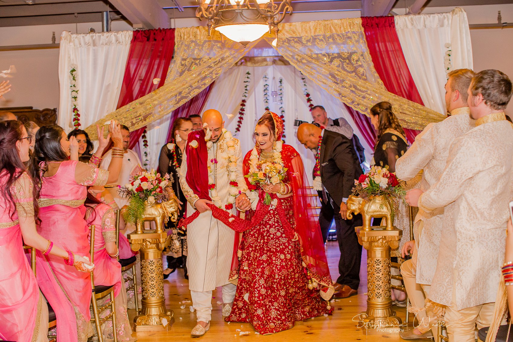 Kaushik 299 Snohomish Fusion Indian Wedding With Megan and Mo