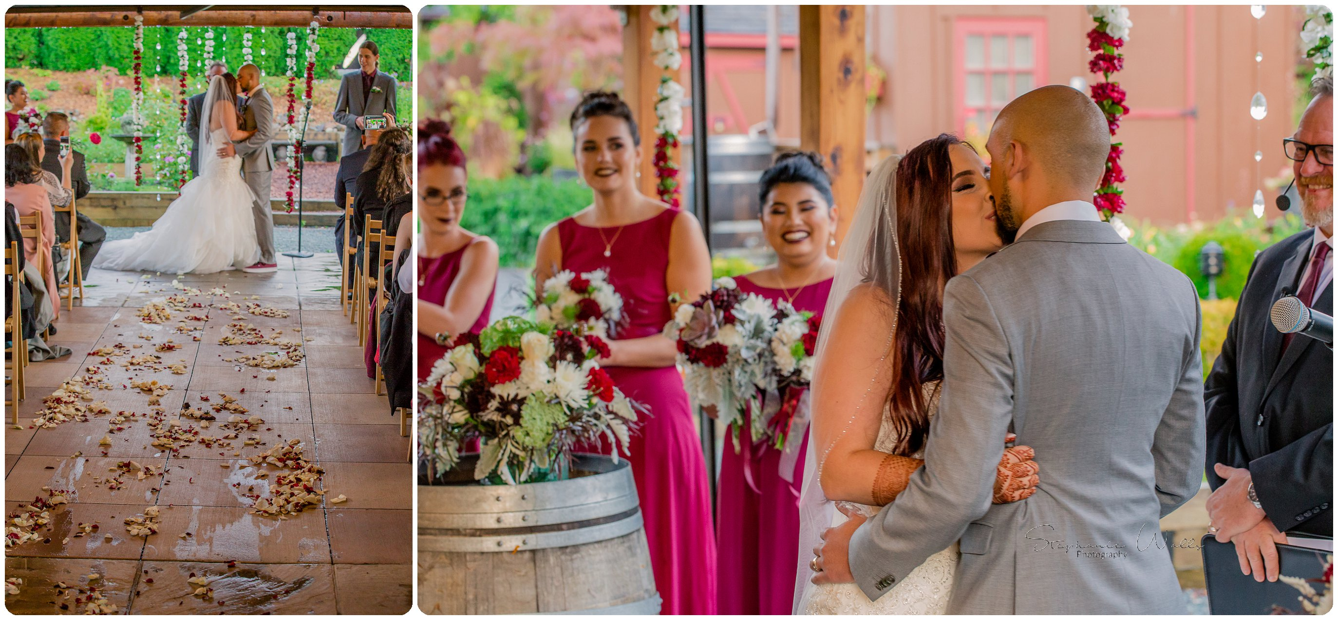 1st Look Ceremony 274 Megan & Mo's Day 2   Willow Lodge Wedding   Woodinville, Wa Wedding Photographer