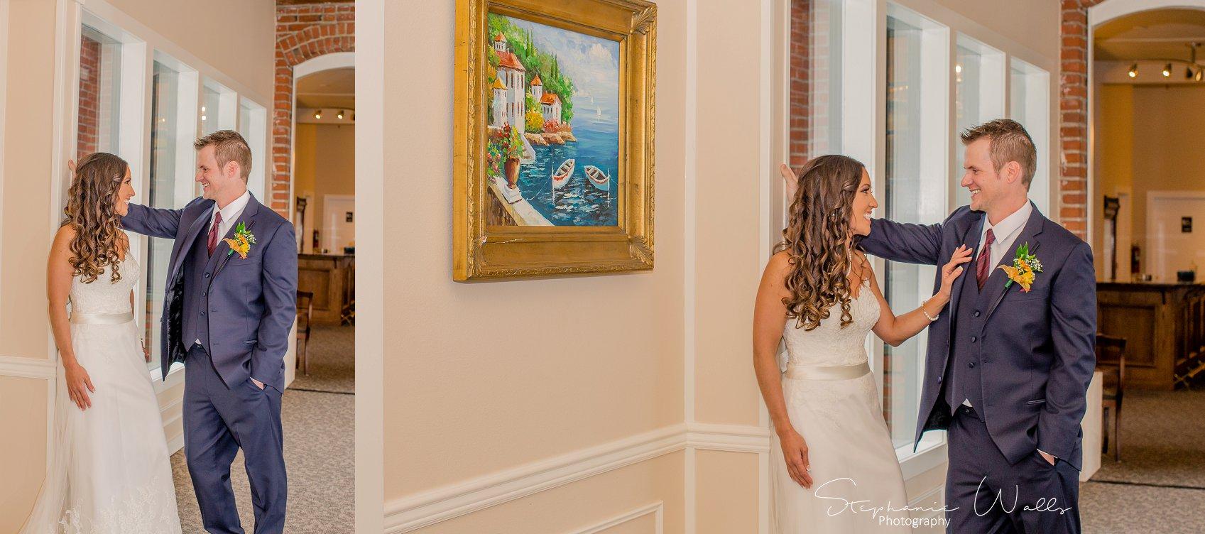 1st look Bridals 047 2 KK & Zack   Hollywood Schoolhouse Wedding   Woodinville, Wa Wedding Photographer