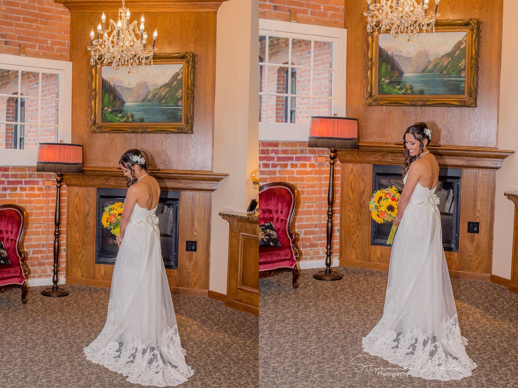 1st look Bridals 116 KK & Zack   Hollywood Schoolhouse Wedding   Woodinville, Wa Wedding Photographer
