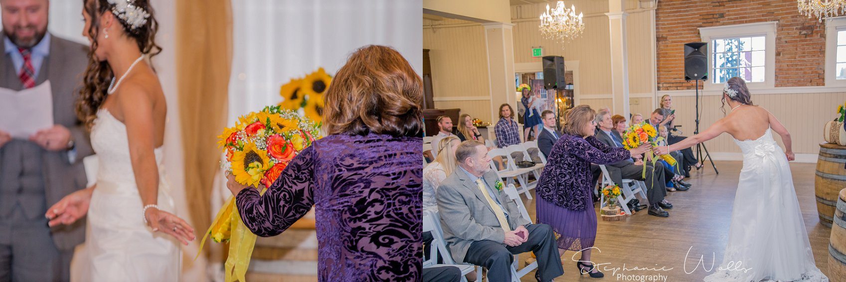 Ceremony 097 KK & Zack | Hollywood Schoolhouse Wedding | Woodinville, Wa Wedding Photographer