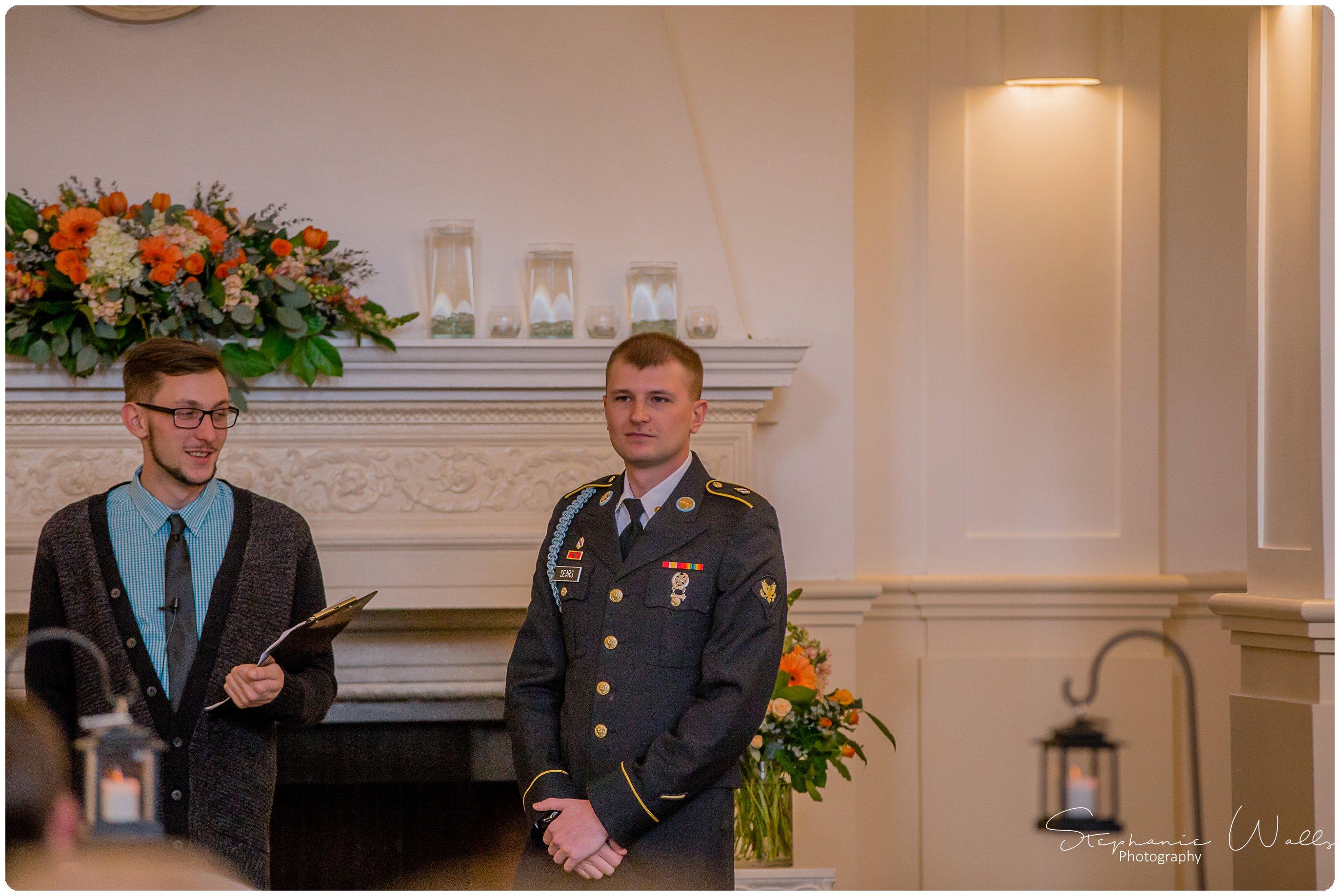 Sears Ceremony 011 The Hero & The Starlet | Monte Cristo Ballroom | Stephanie Walls Photography Weddings