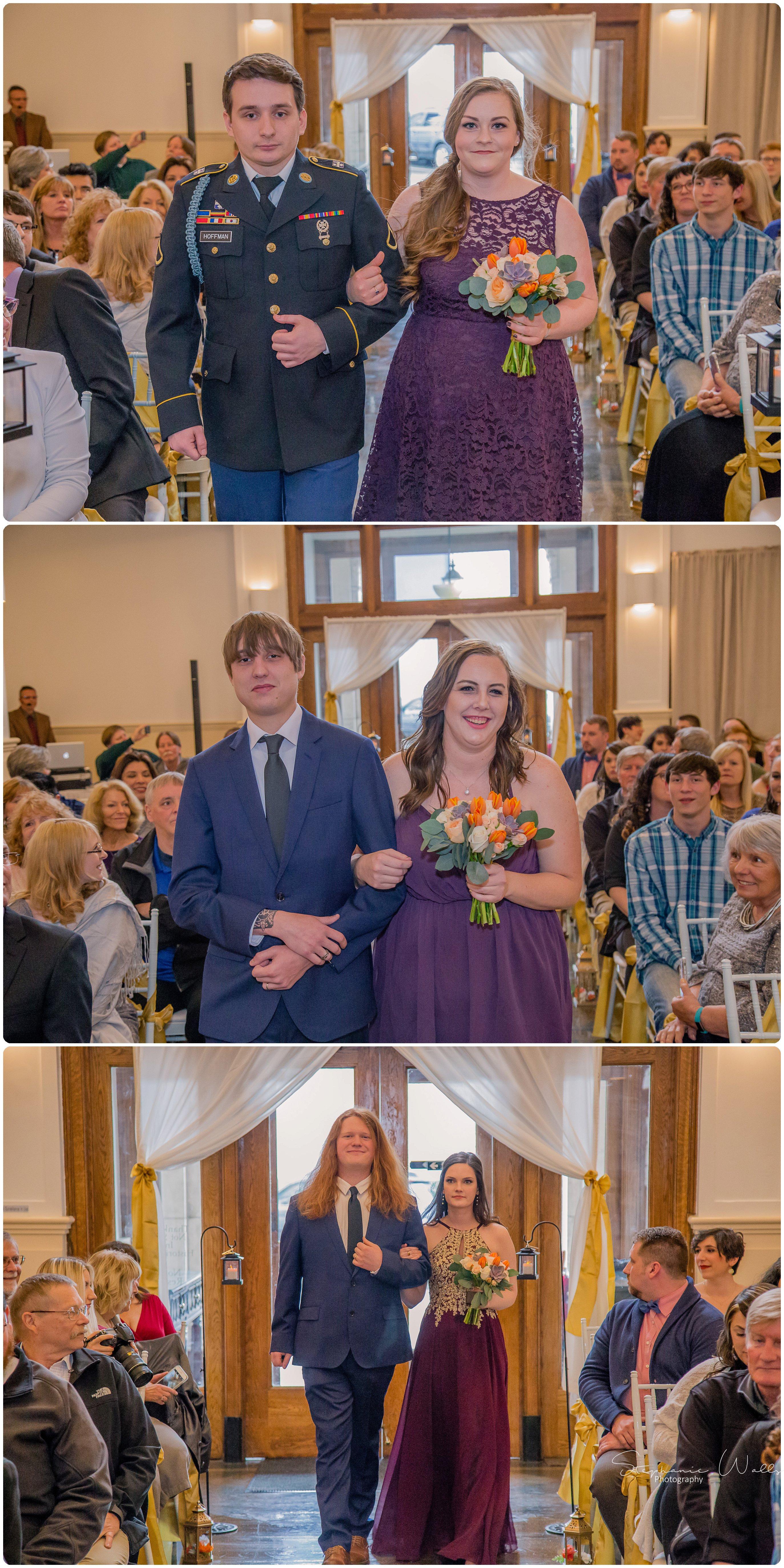 Sears Ceremony 020 The Hero & The Starlet | Monte Cristo Ballroom | Stephanie Walls Photography Weddings