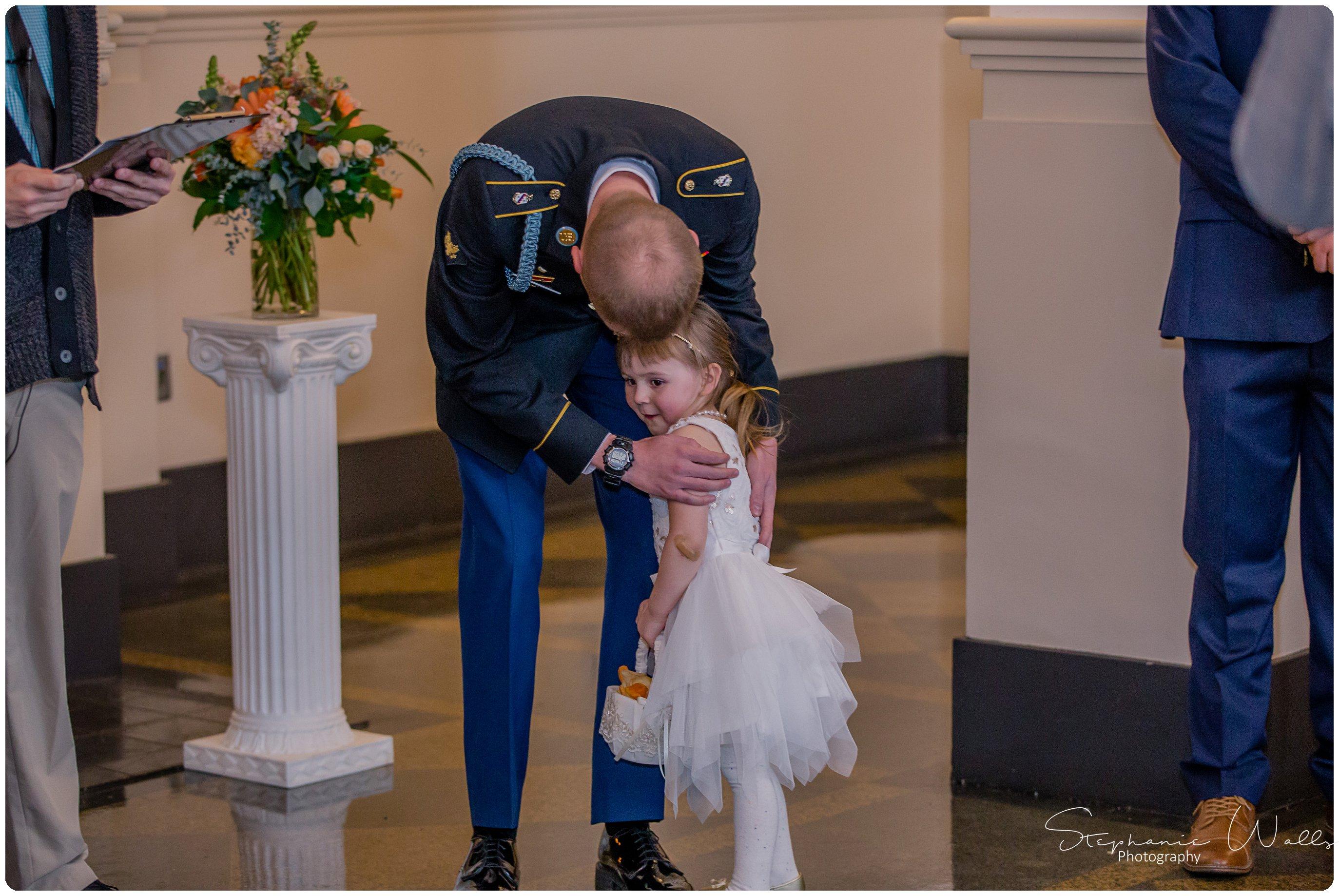 Sears Ceremony 056 The Hero & The Starlet | Monte Cristo Ballroom | Stephanie Walls Photography Weddings