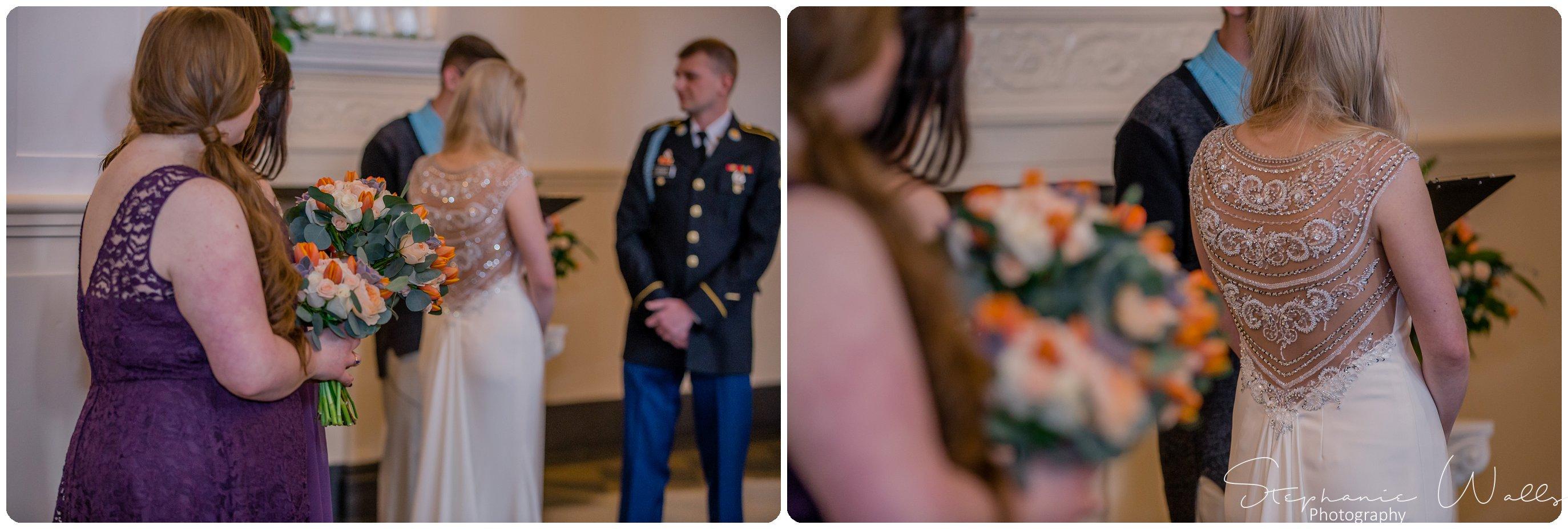 Sears Ceremony 089 The Hero & The Starlet | Monte Cristo Ballroom | Stephanie Walls Photography Weddings