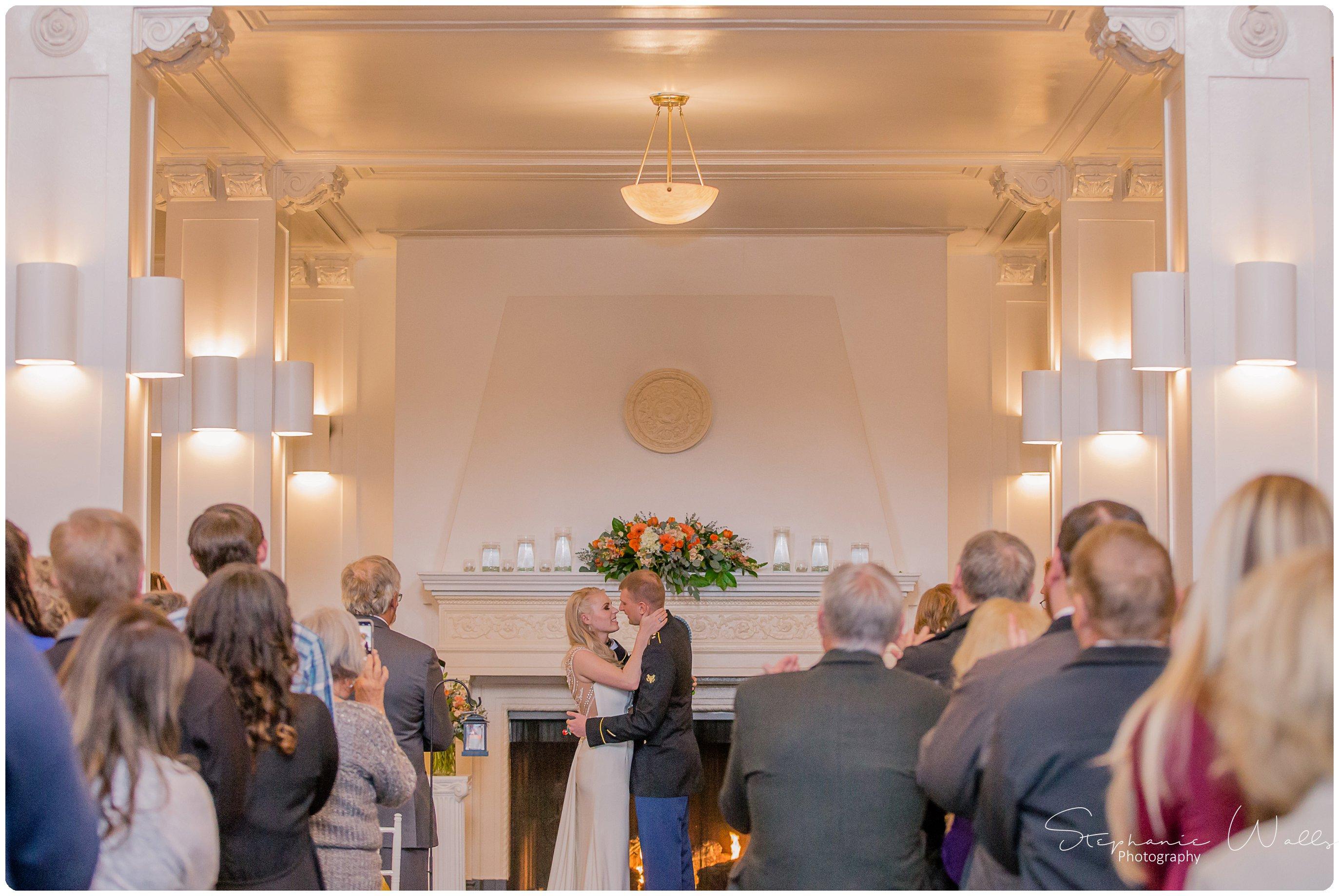 Sears Ceremony 195 The Hero & The Starlet | Monte Cristo Ballroom | Stephanie Walls Photography Weddings