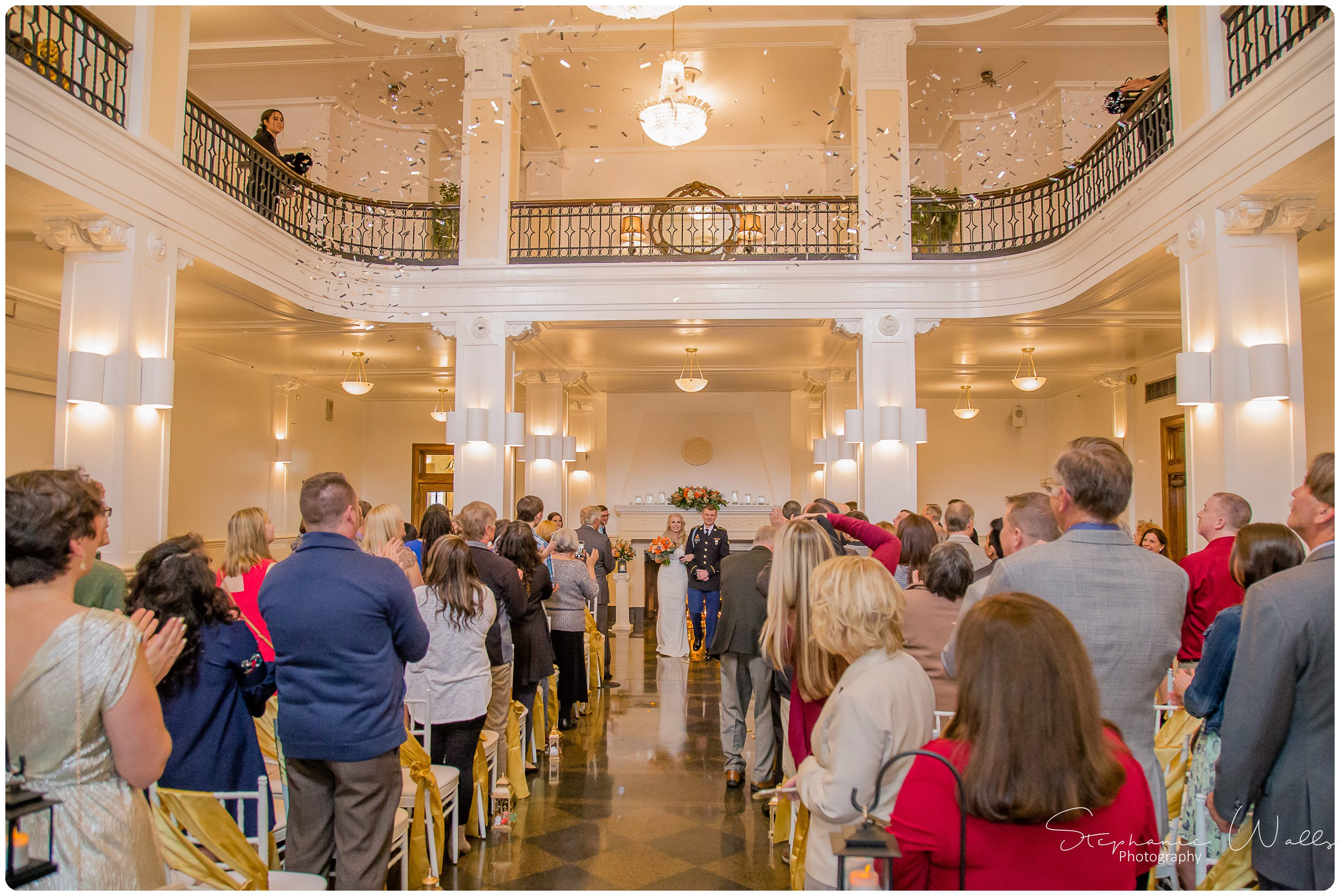 Sears Ceremony 208 The Hero & The Starlet | Monte Cristo Ballroom | Stephanie Walls Photography Weddings