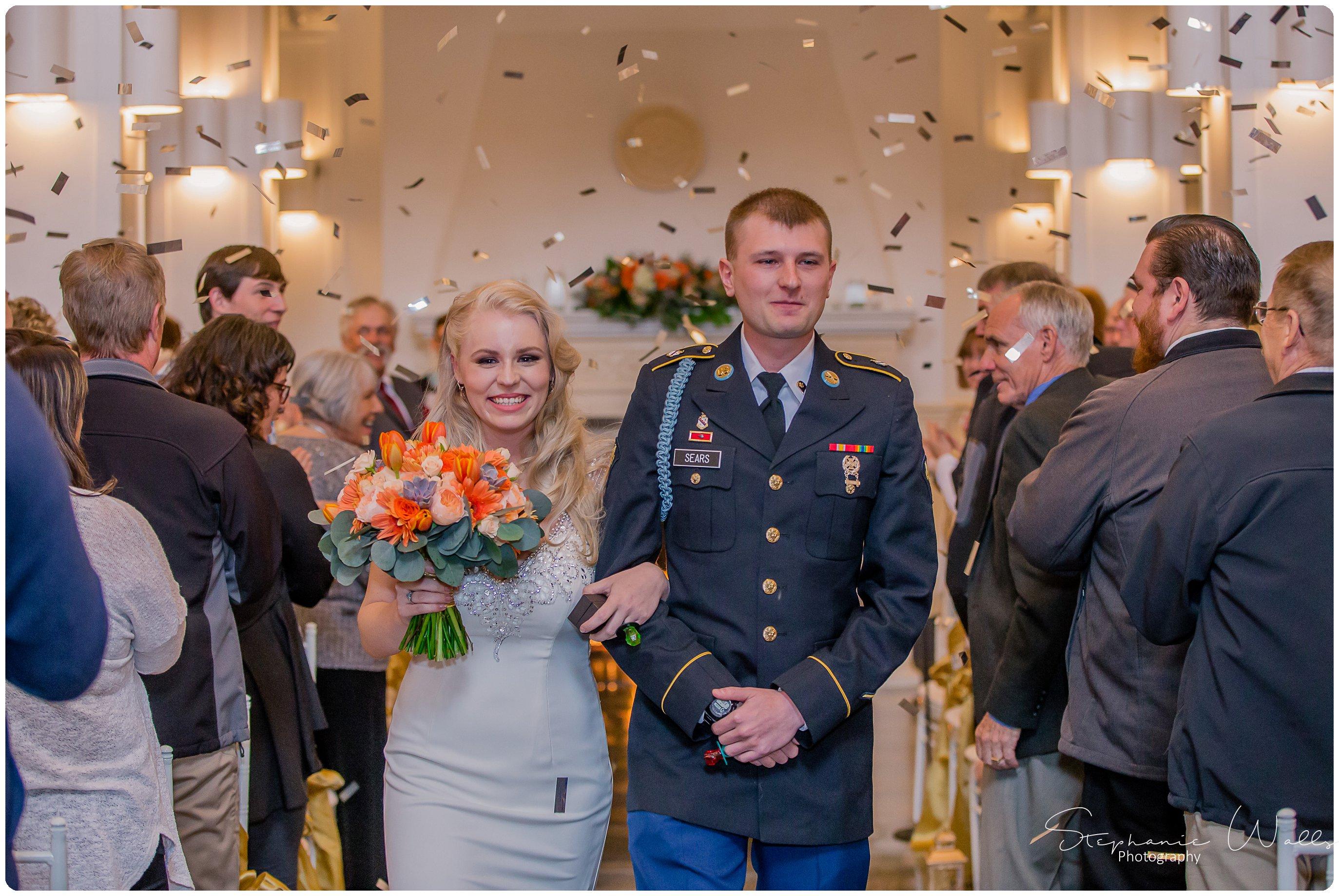 Sears Ceremony 219 The Hero & The Starlet | Monte Cristo Ballroom | Stephanie Walls Photography Weddings