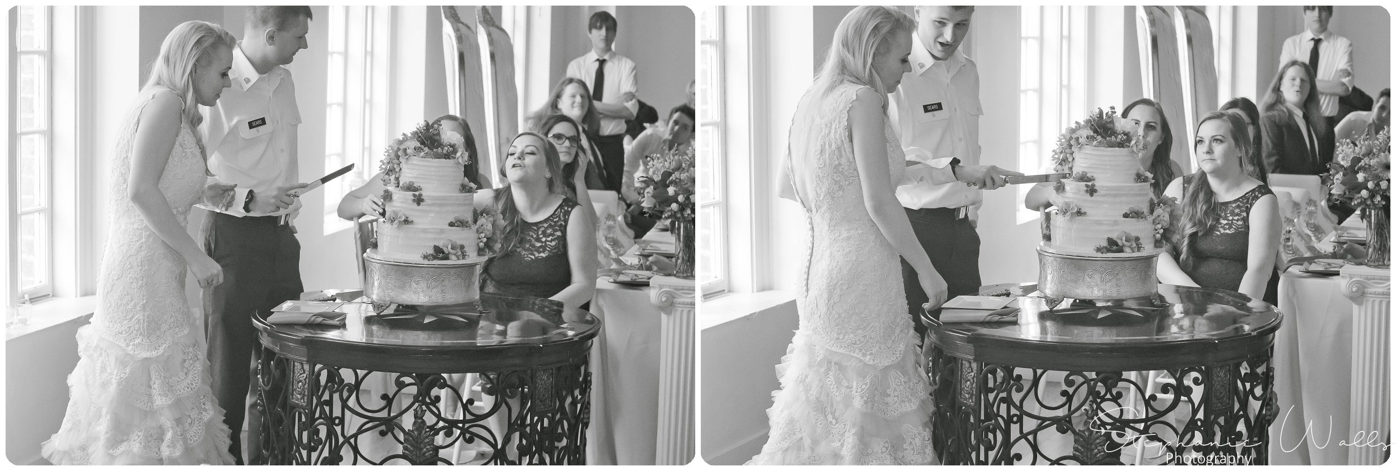 Sears Dinner Toast Cake 138 The Hero & The Starlet | Monte Cristo Ballroom | Stephanie Walls Photography Weddings