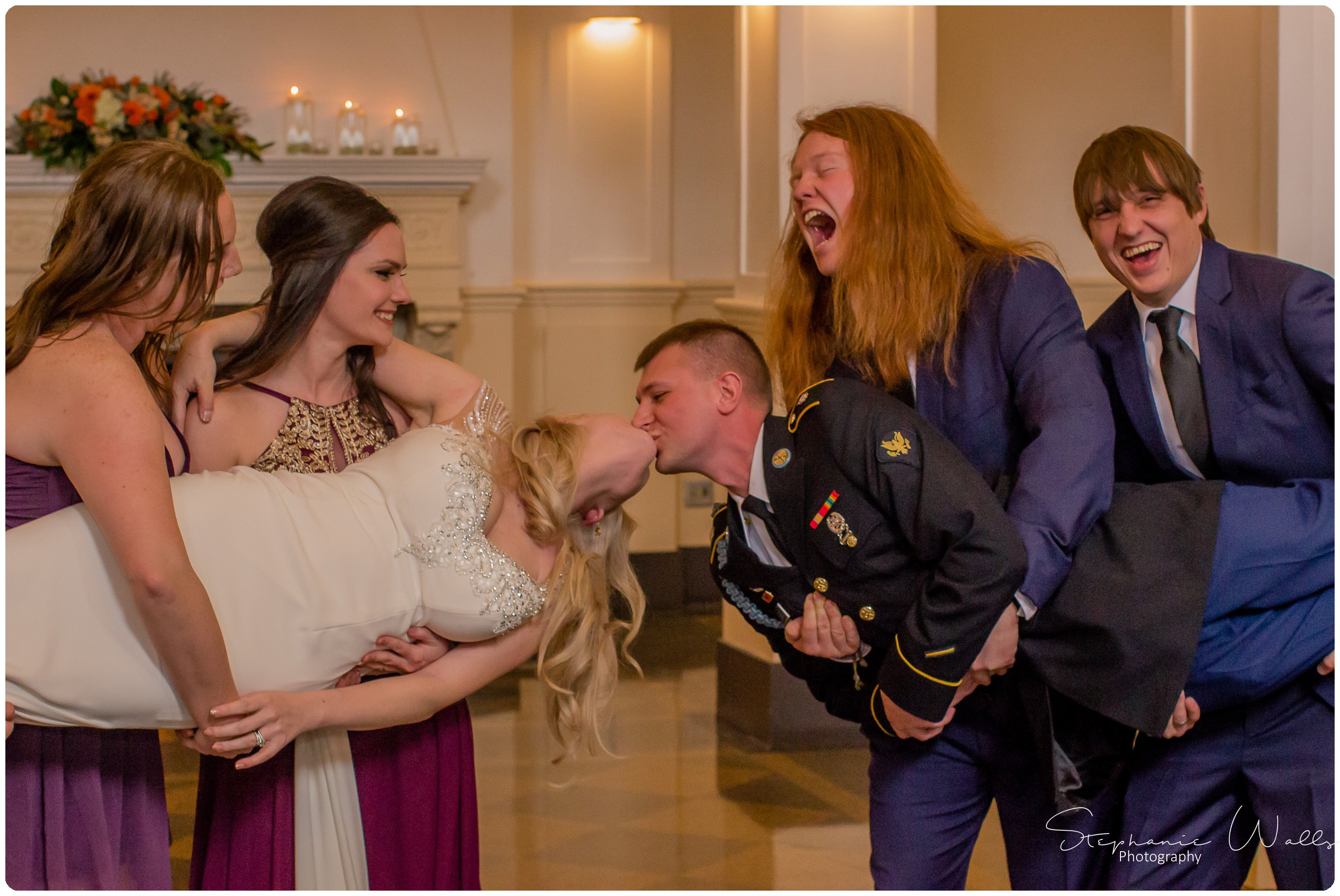 Sears Wedding Party Bridals 022 The Hero & The Starlet | Monte Cristo Ballroom | Stephanie Walls Photography Weddings