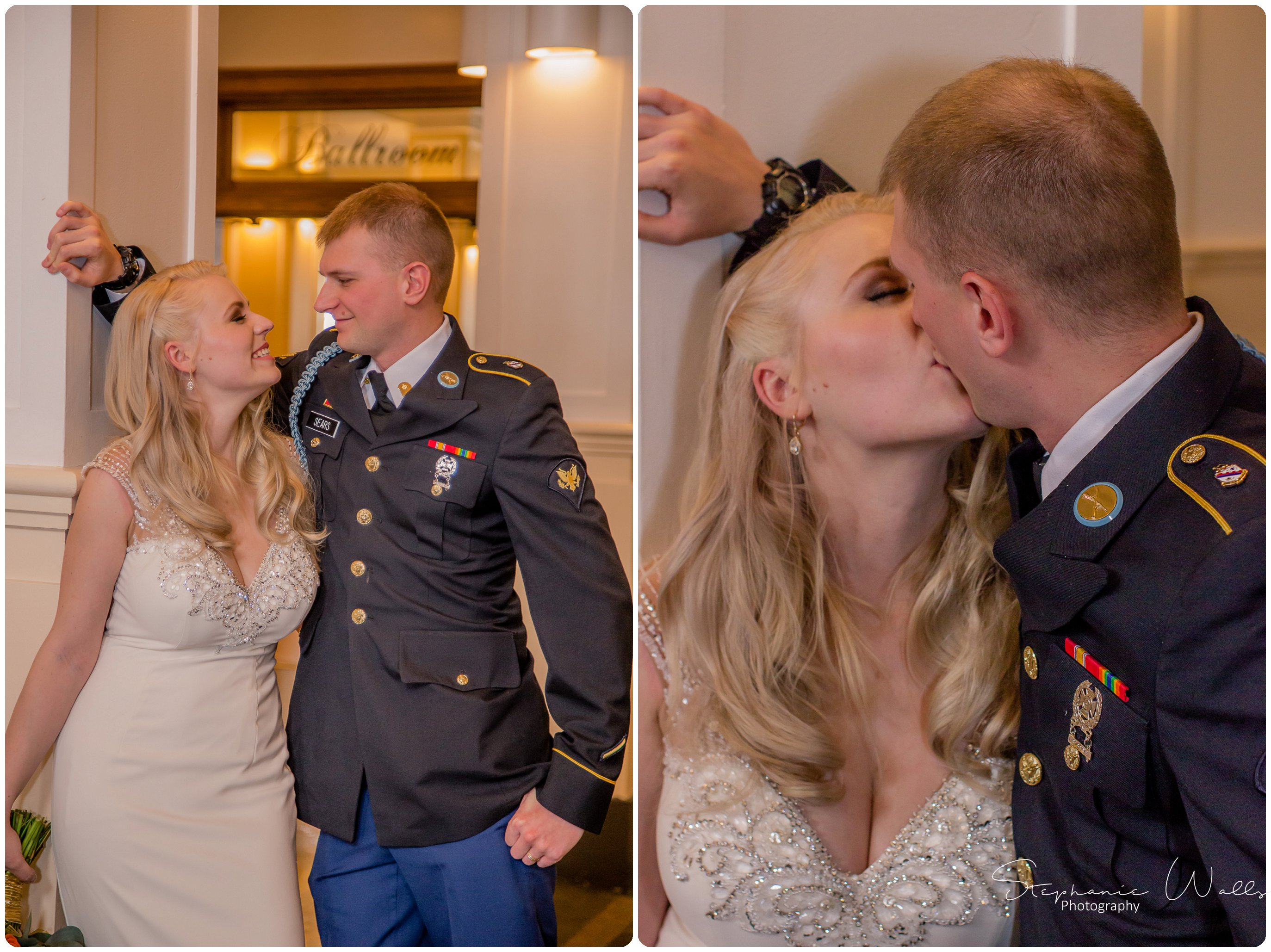 Sears Wedding Party Bridals 025 The Hero & The Starlet | Monte Cristo Ballroom | Stephanie Walls Photography Weddings