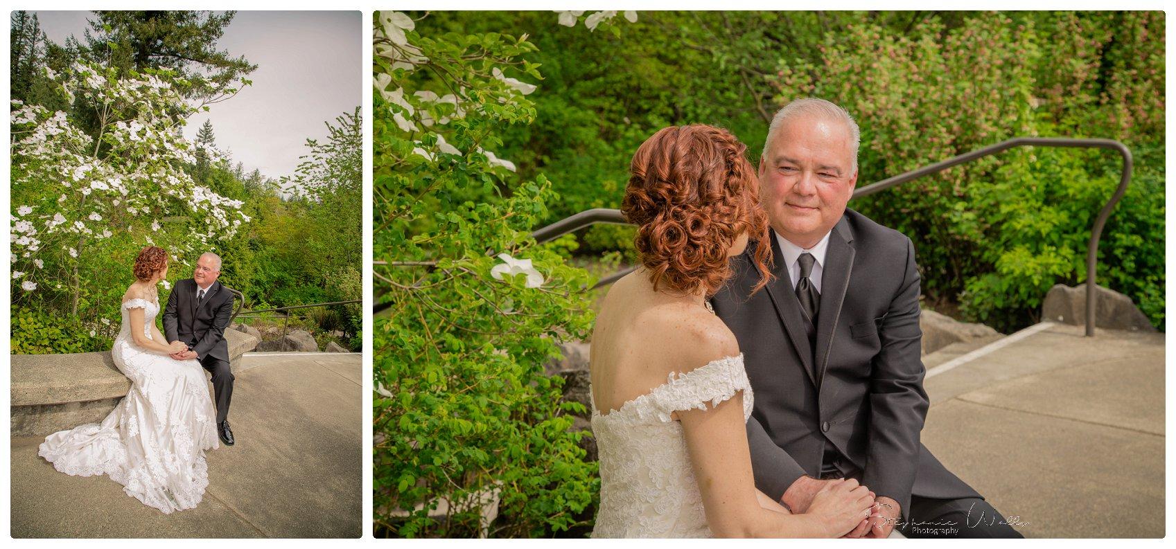 Portraits Ceremony 018 Salish Lodge & Spa    Elopement With Liz and Paul