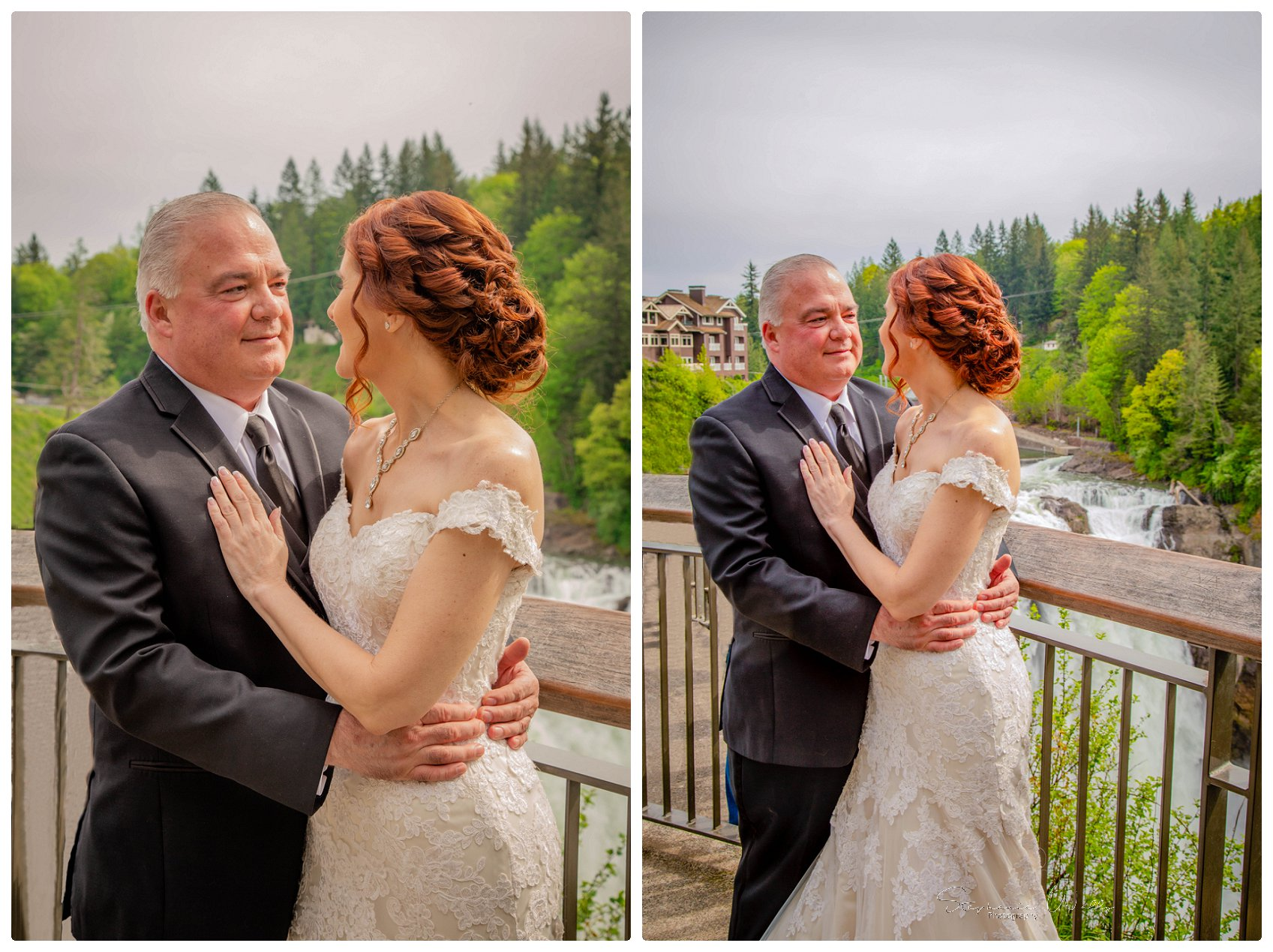 Portraits Ceremony 036 Salish Lodge & Spa    Elopement With Liz and Paul