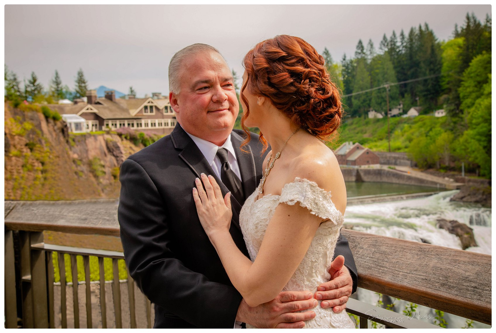 Portraits Ceremony 040 Salish Lodge & Spa    Elopement With Liz and Paul