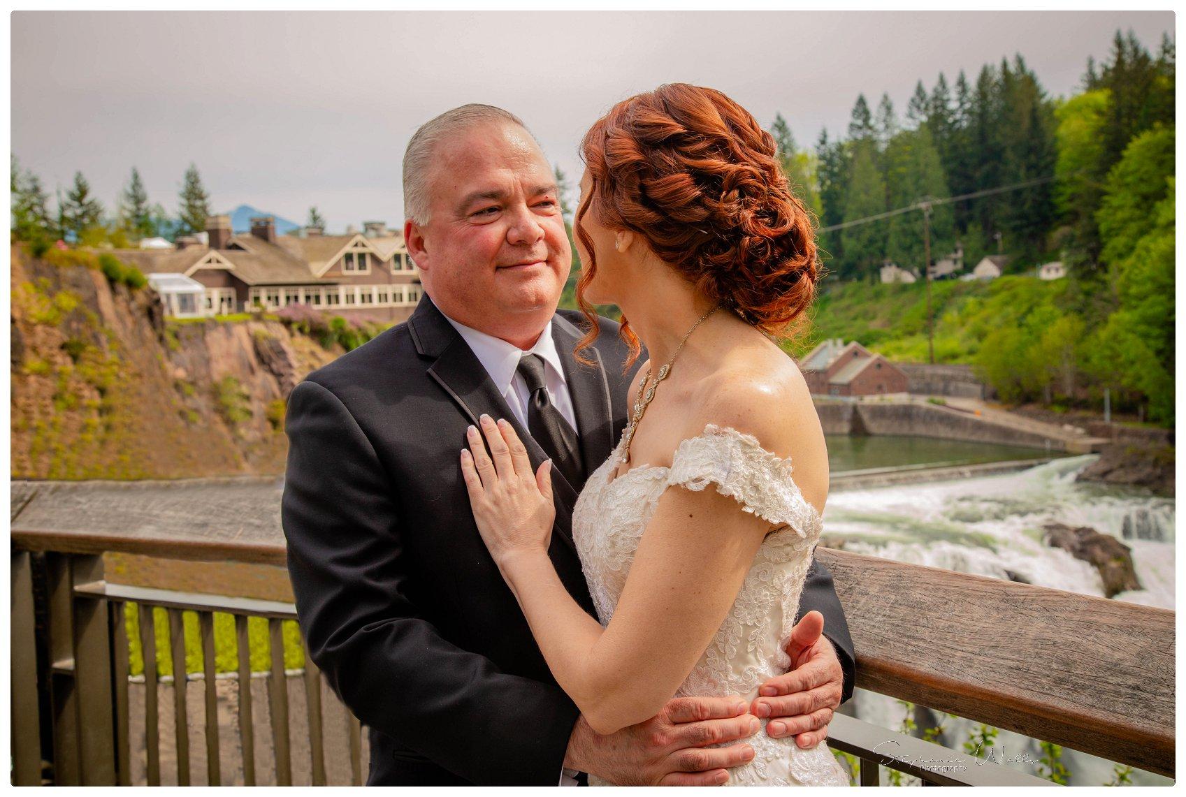 Portraits Ceremony 040 Salish Lodge & Spa    Elopement With Liz and Paul