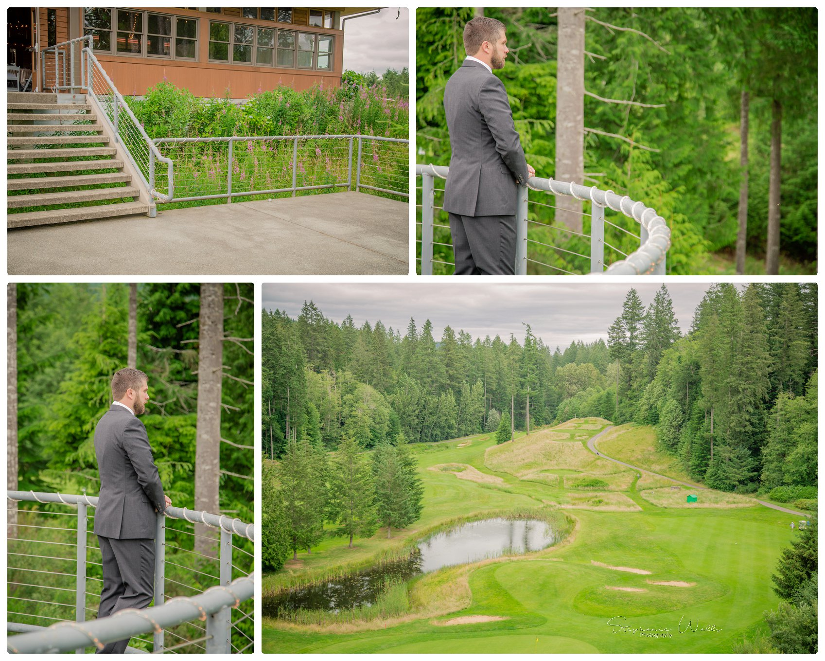 1st look Bridals 001 Gold Mountain Golf Course Wedding With Jenn and Rob