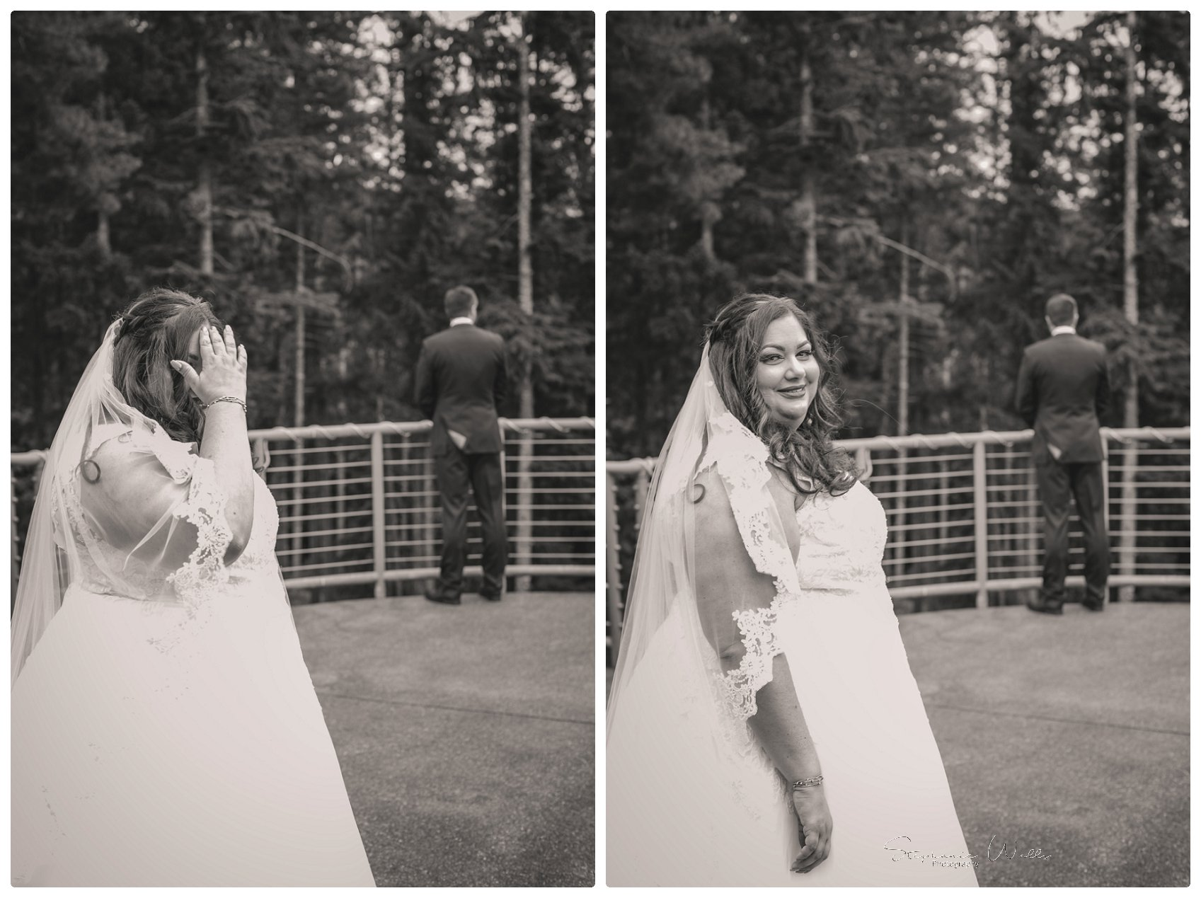 1st look Bridals 010 Gold Mountain Golf Course Wedding With Jenn and Rob