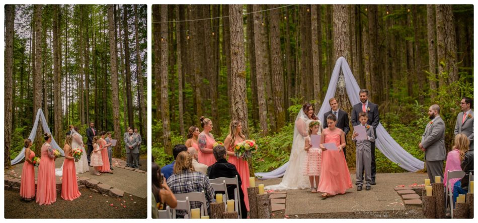 Ceremony 123 950x444 Gold Mountain Golf Course Wedding With Jenn and Rob