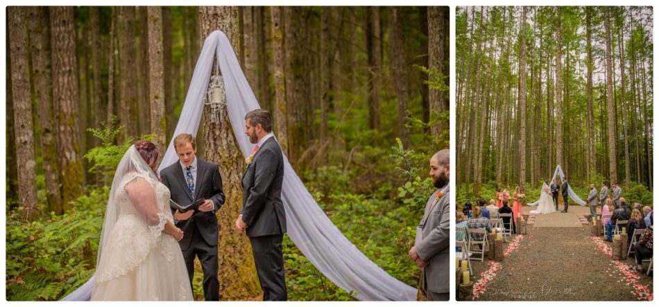 Ceremony 134 950x444 Gold Mountain Golf Course Wedding With Jenn and Rob