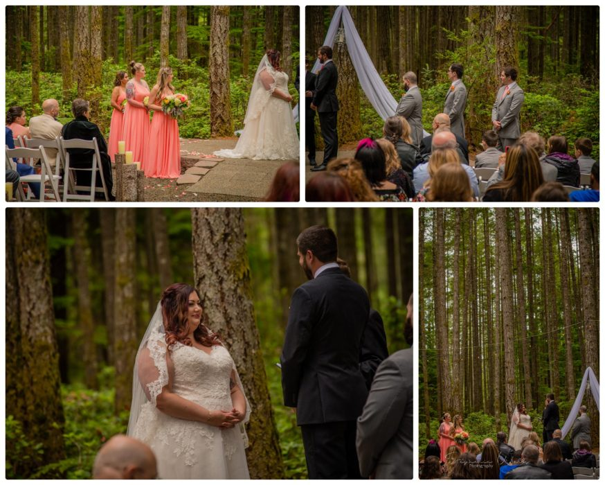 Ceremony 148 874x700 Gold Mountain Golf Course Wedding With Jenn and Rob