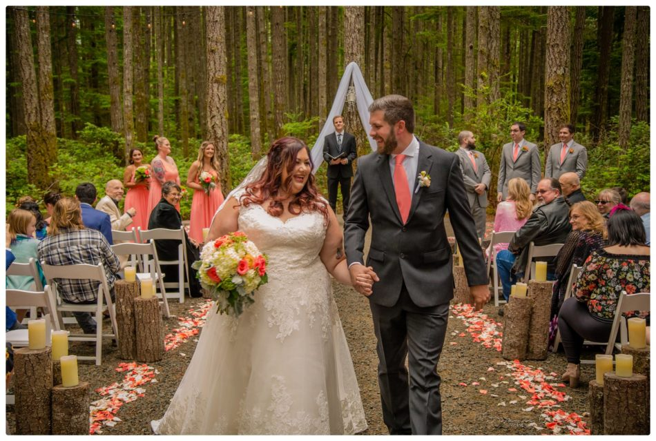Ceremony 242 950x639 Gold Mountain Golf Course Wedding With Jenn and Rob