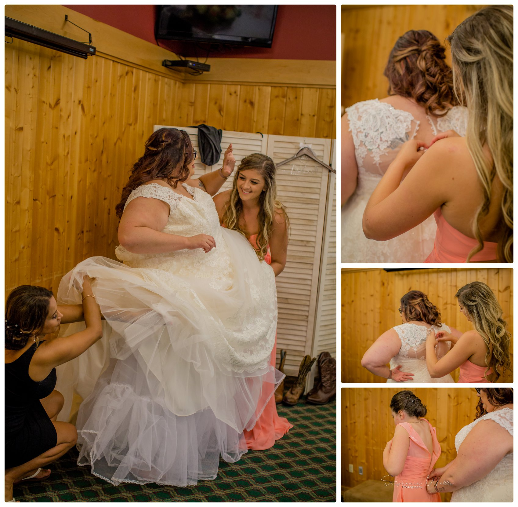 Getting Ready 061 Gold Mountain Golf Course Wedding With Jenn and Rob