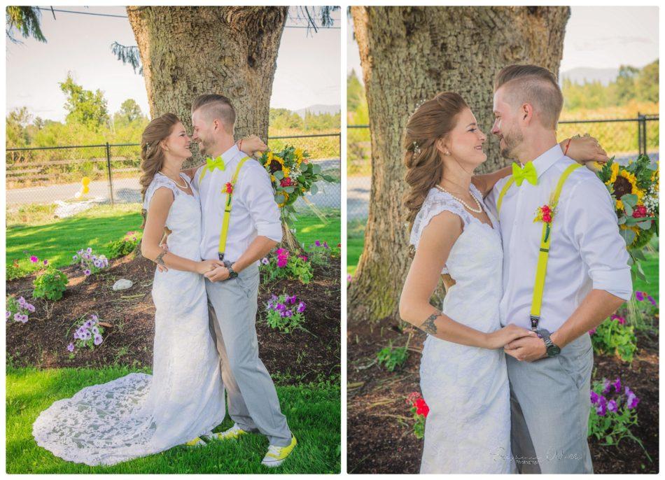 Bride Groom 126 950x686 A TRIBE OF OUR OWN|BACKYARD MARYSVILLE WEDDING | SNOHOMISH WEDDING PHOTOGRAPHER