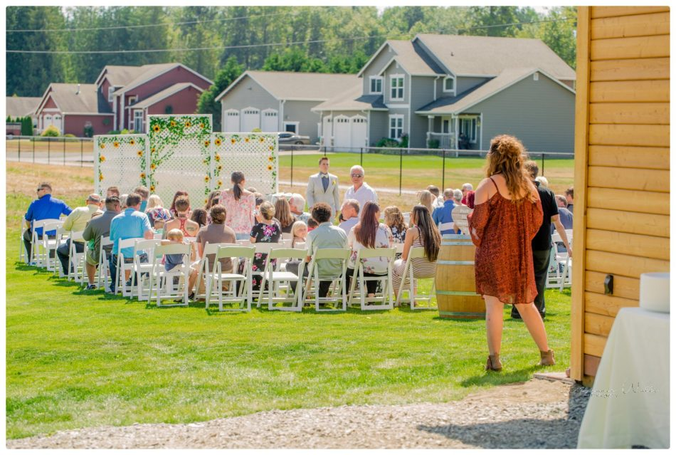 Ceremony 001 950x639 A TRIBE OF OUR OWN|BACKYARD MARYSVILLE WEDDING | SNOHOMISH WEDDING PHOTOGRAPHER
