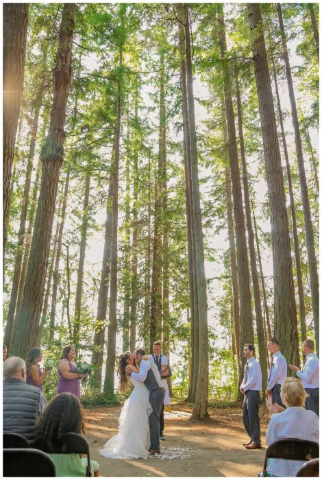 Ceremony 238 470x700 Skys the Limit | Kitsap Memorial State Park | Kitsap Wedding Photographer