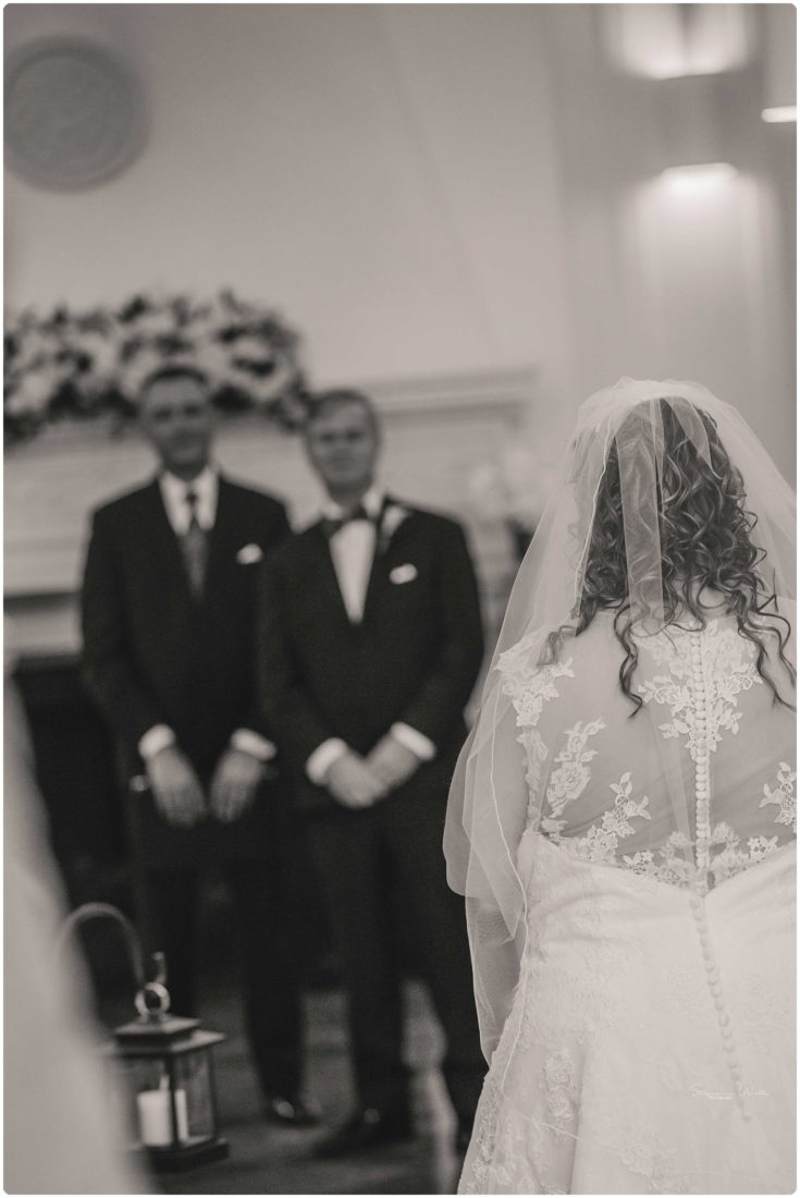 Ceremony 072 Black & Teal | Monte Cristo Ballroom Wedding | Everett Wedding Photographer