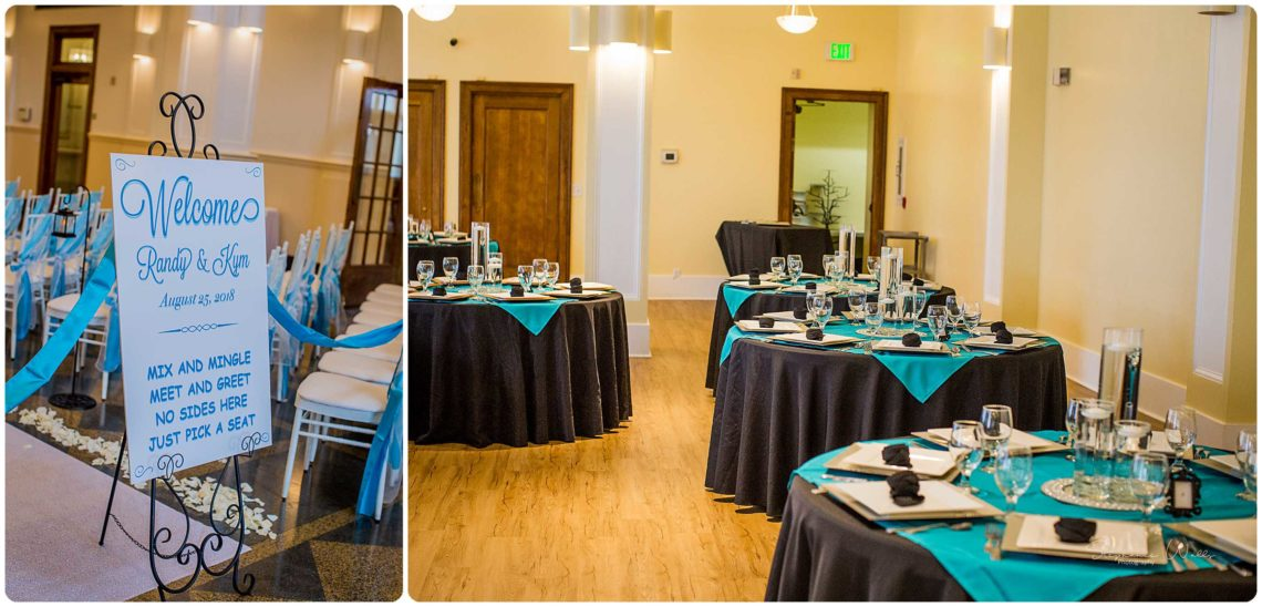 Details 030 Black & Teal | Monte Cristo Ballroom Wedding | Everett Wedding Photographer