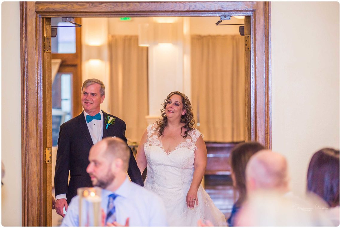 Reception 051 Black & Teal | Monte Cristo Ballroom Wedding | Everett Wedding Photographer