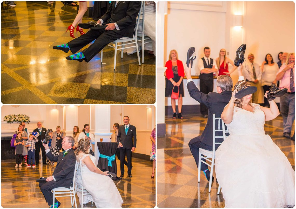 Reception 109 Black & Teal | Monte Cristo Ballroom Wedding | Everett Wedding Photographer