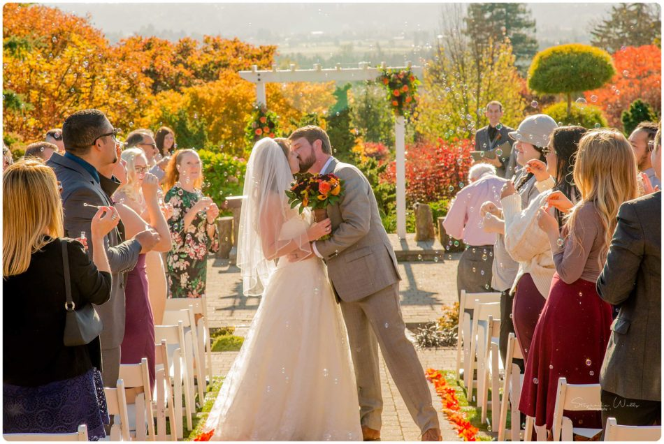 Mingling Ceremony 190 950x636 Olympic View Estates Wedding   Autumn Love with Ayla and David