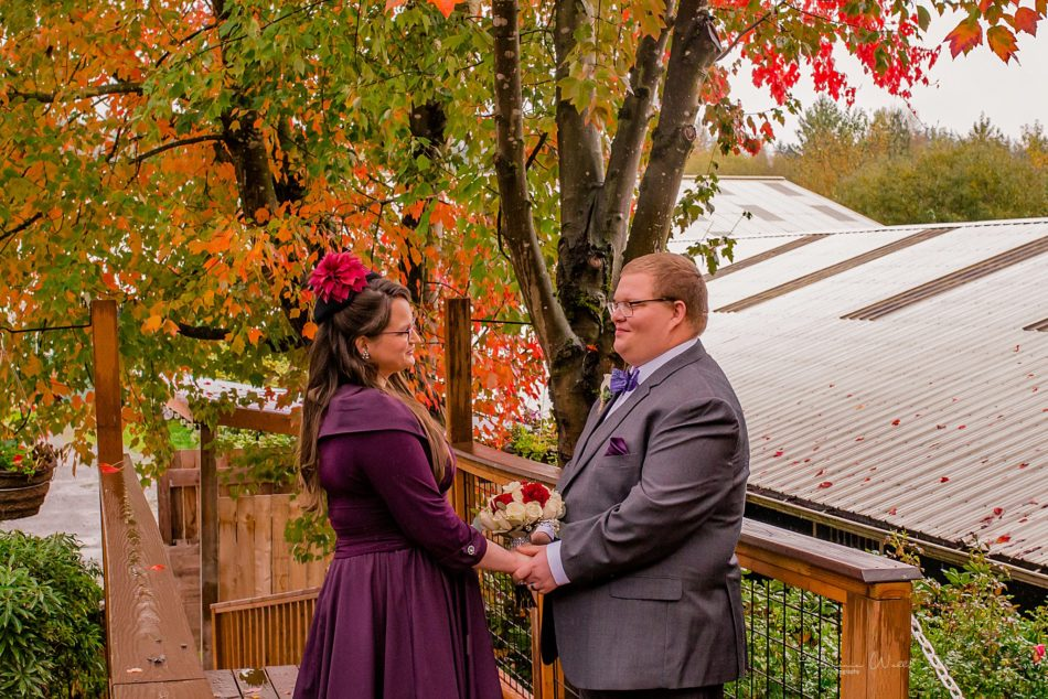 Stephanie Walls Photography 0268 950x634 Barn at Holly Farms Elopement of Kimberly and Mike