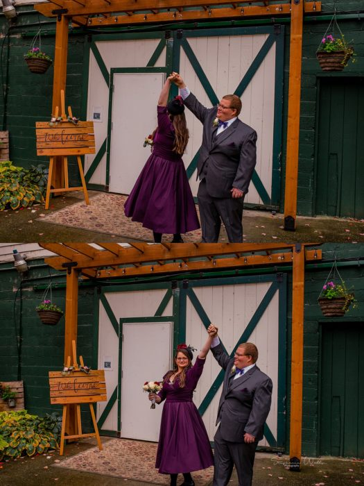 Stephanie Walls Photography 0272 525x700 Barn at Holly Farms Elopement of Kimberly and Mike
