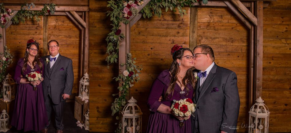 Stephanie Walls Photography 0274 950x436 Barn at Holly Farms Elopement of Kimberly and Mike